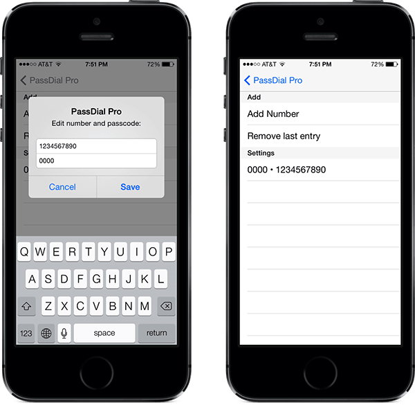 Passdial-Assiging-Contacts