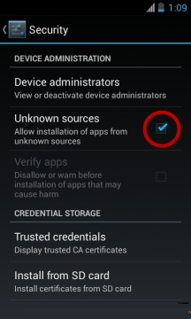 Unknown Sources