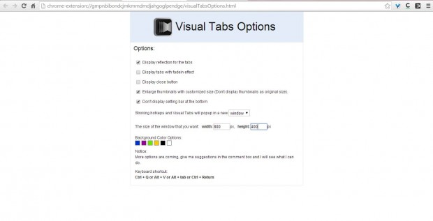 Visual Tabs 3