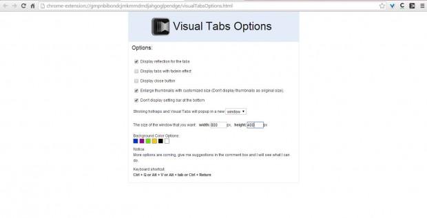 Visual Tabs 3