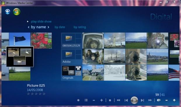 Windows 7 Media Centre 5