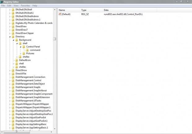 context menu shortcut