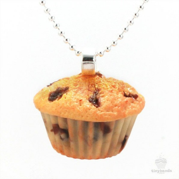 cupcake necklace
