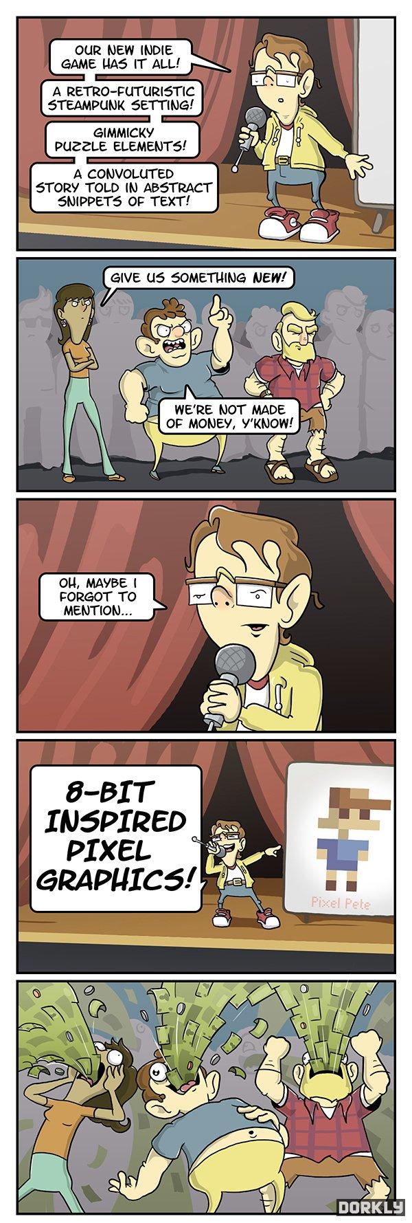 indie game annoucement