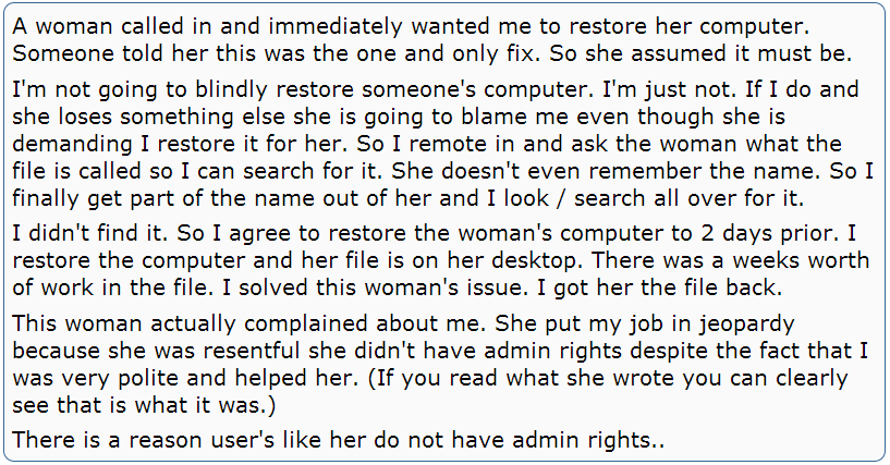 rude woman