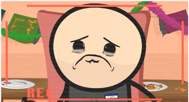 sad larry