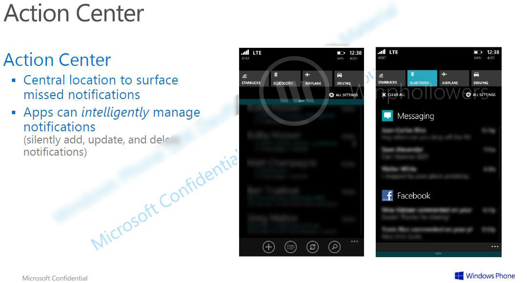 windowsphoneactioncenter