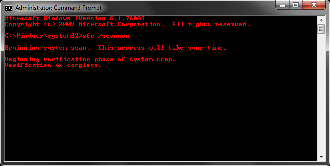 Fix corrupted files