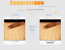 Compressnow Free Image Size Reducer