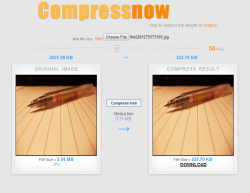 Compressnow Free Image Size Reducer