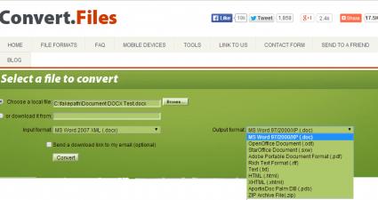 Convert Files Free Online Converter