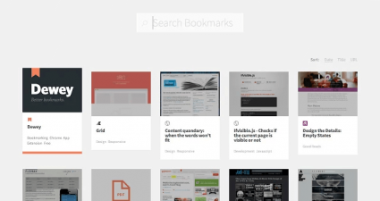 Dewey Bookmarks for Chrome