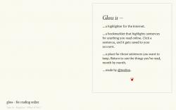 Gloss Web Highlighter