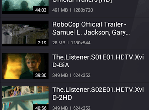 KMPlayer for Android Media Library