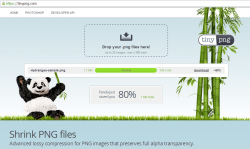 TinyPNG for Web Compressed