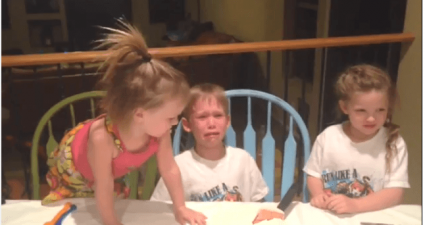 baby reveal gone wrong