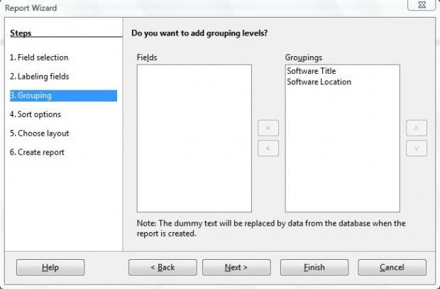 database report 3