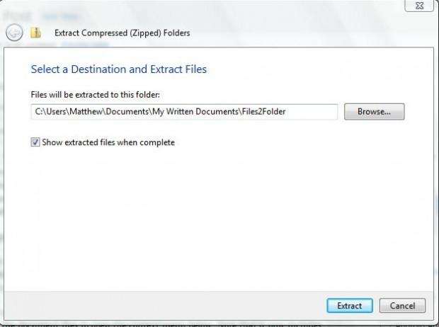 files2folders