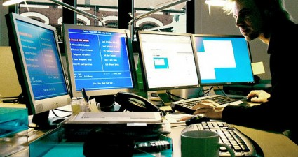 four monitors