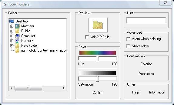 Rainbow Folder 1