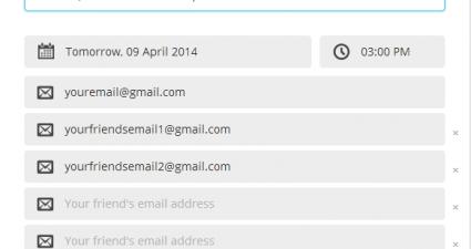 Reme.IO Email Reminder Service