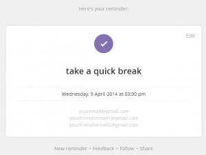 Reme.IO Email Reminder Tool