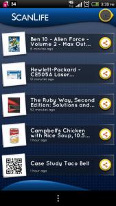 ScanLife QR Barcode Scanner