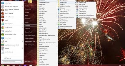 XP menu 2