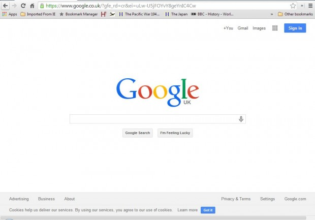 chrome bookmark bar 2