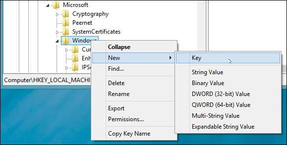 registry-new-key