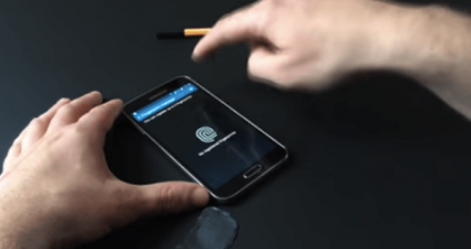 samsung galaxy s5 fingerprint sensor paypal