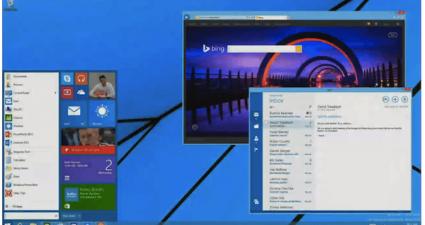 start button windows 8 software update