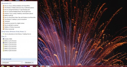 windows 7 search box