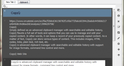CopyQ Clipboard Manager
