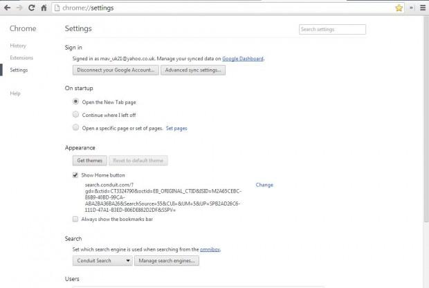 Custom New tab page