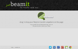 JustBeamIt for Web