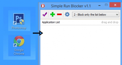 Simple Run Blocker for Windows
