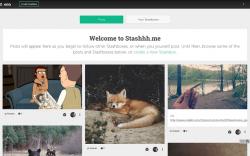 Stashhh Welcome Screen