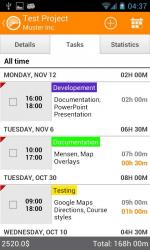 Timesheet Time Tracker