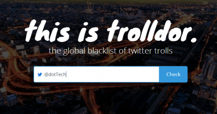 Trolldor for Twitter