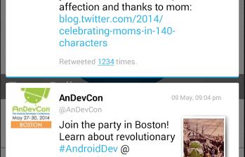 Tweet Balloon Overlay Window