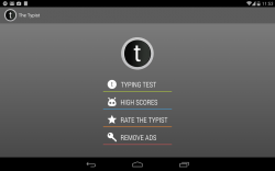 Typist for Android App