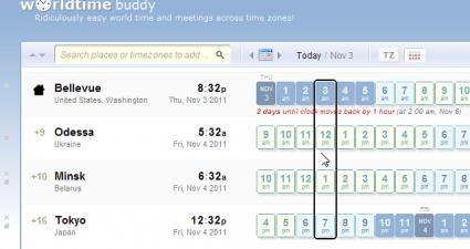 World Time Buddy for Chrome