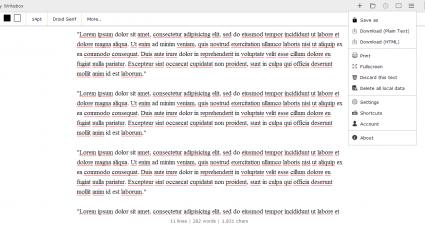 Writebox for Web