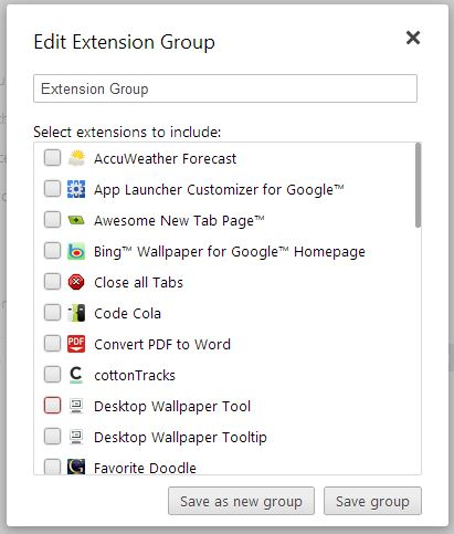 manage extensions4