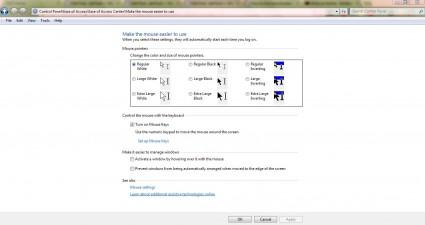 mouse keypad