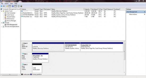 virtual disk 1