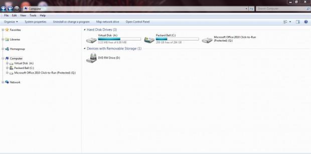 virtual disk 4