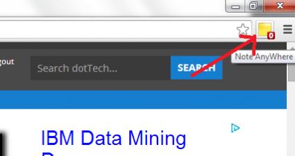 Add Sticky Notes on any Web Page Chrome