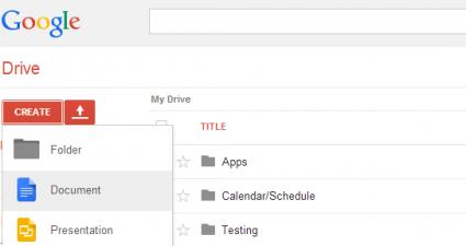 Create PDF on Google Drive